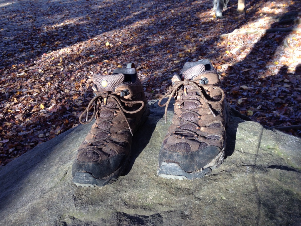 boots at the end of the trail