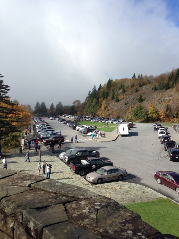 GSMNP Newfound Gap parking lot