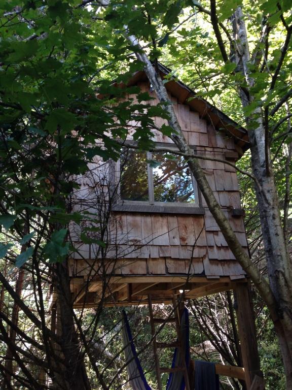 Tree House at Standing Bear Farm Hostel